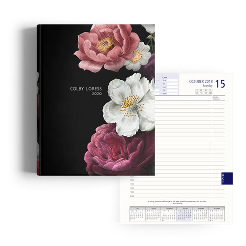 Picture of Dark Garden Diary A4