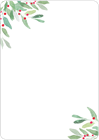 Picture of Under the Mistletoe Notecard