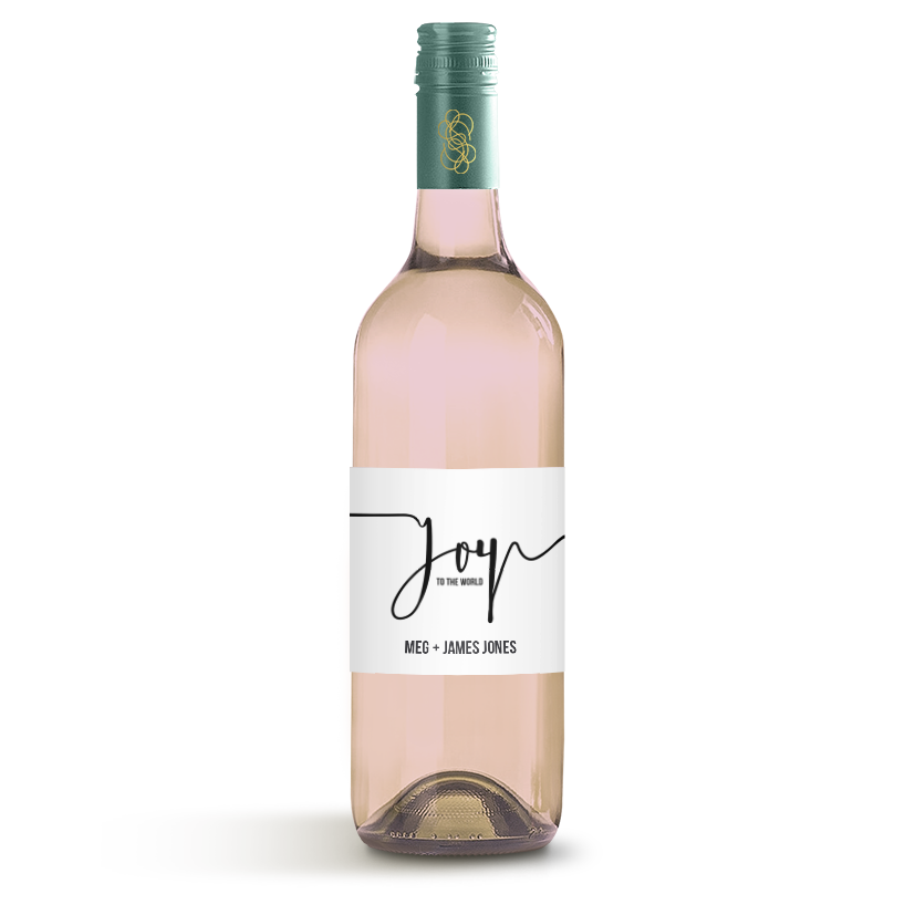Picture of Joy To The World Wine Label