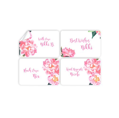 Picture of Floral Stickers