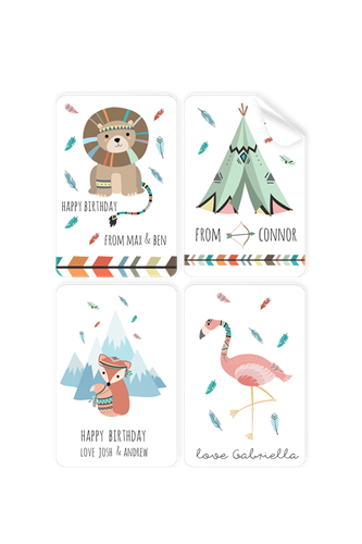 Picture of Forrest Friends Stickers