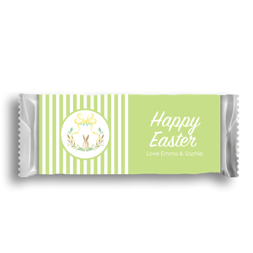 Picture of Green Stripe Easter Wrapper