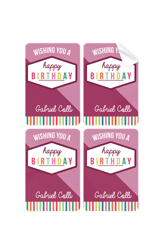 Picture of Birthday Girl Stickers