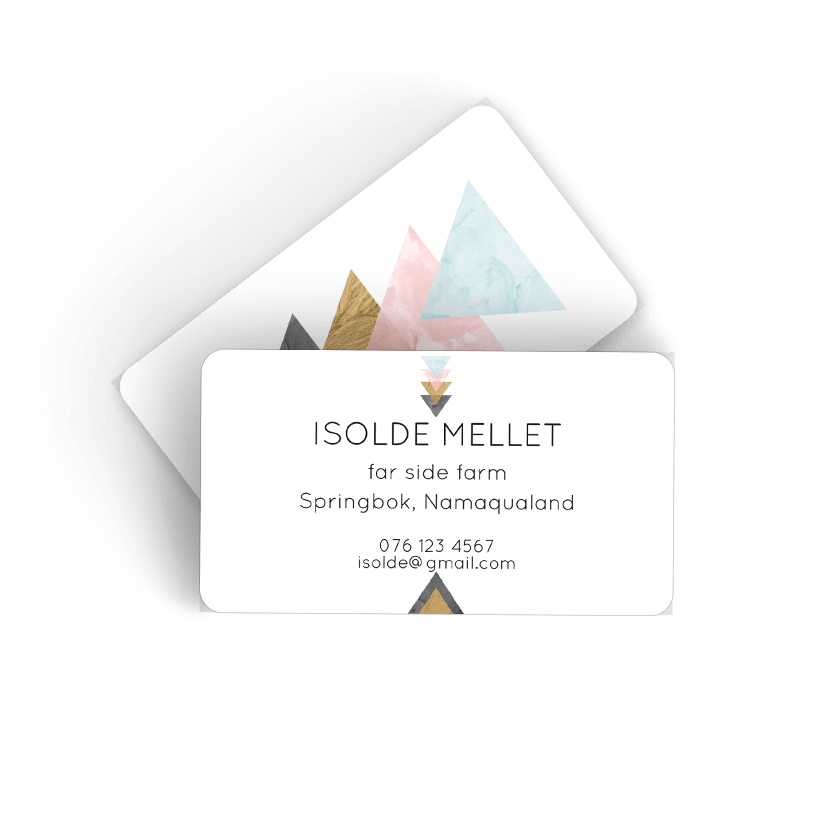 Picture of Triangle Calling Card