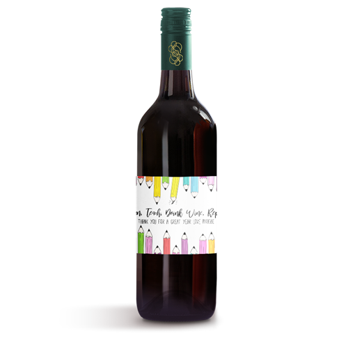 Picture of Pencils Wine Label
