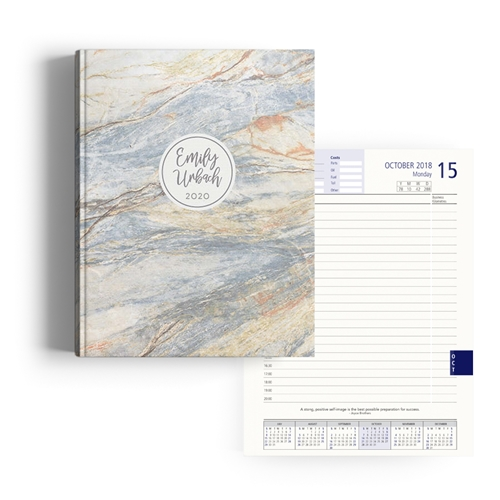 Picture of Marble Diary A4