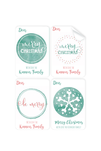 Picture of Coastal Christmas Stickers