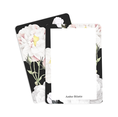 Picture of White Roses Notecard