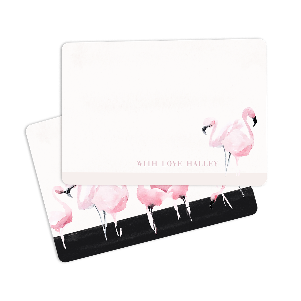 Picture of Flamingo Notecard
