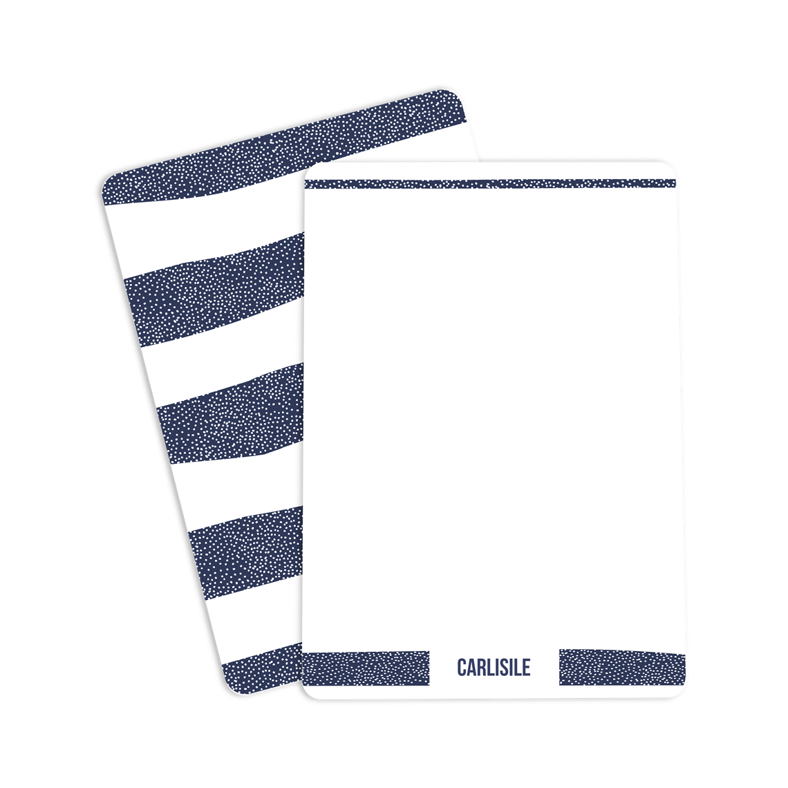 Picture of Dotted Stripes Notecard