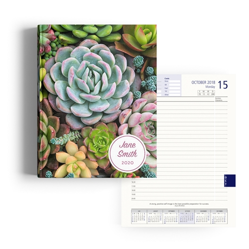 Picture of Succulent Diary A4