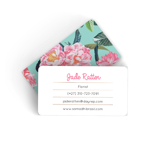 Picture of Floral Calling Card