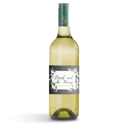 Picture of Drink And Be Merry Wine Label