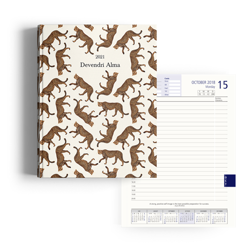 Picture of Cheetah Diary A4