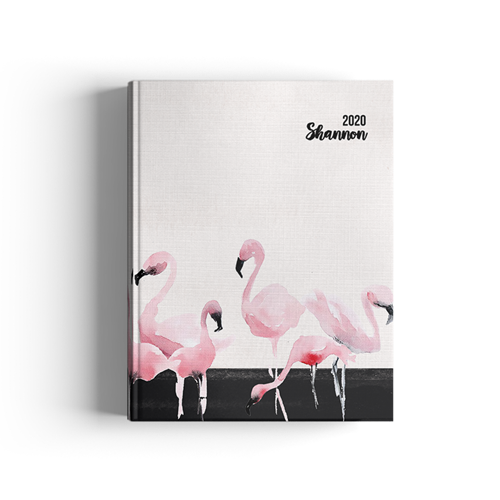 Picture of Dark Flamingo Journal
