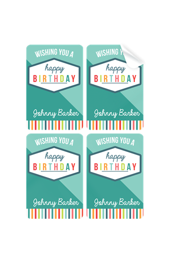 Picture of Birthday Boy Stickers