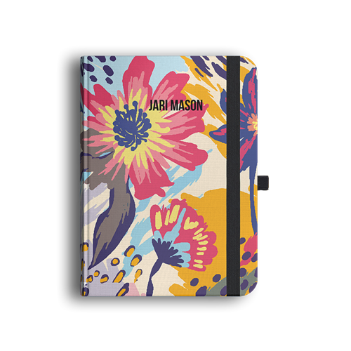 Picture of Floral Splat Luxury Journal