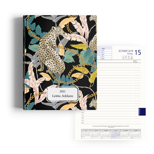 Picture of Leopard Lux Diary A4