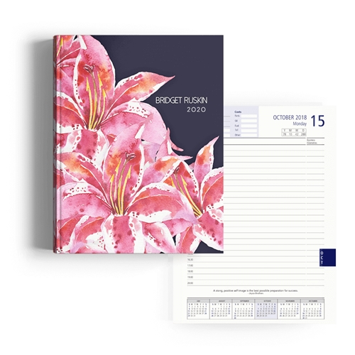 Picture of Hibiscus Diary A4