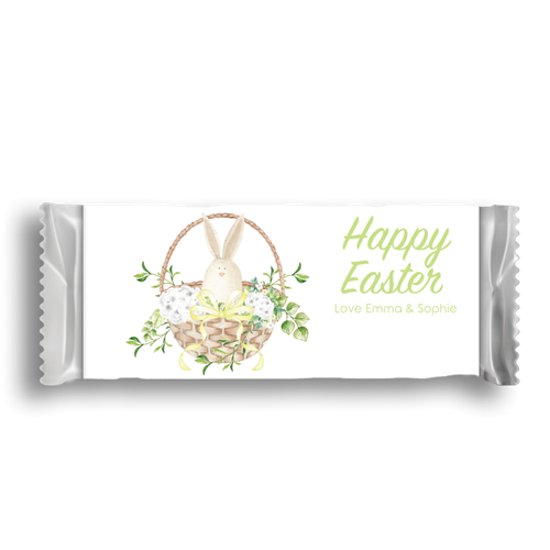 Picture of Easter Bunny Basket Wrapper