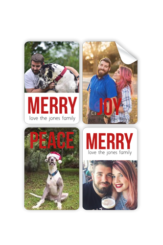 Picture of Merry Joy Peace Stickers